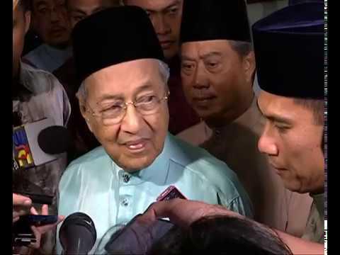 Tunjuk bukti jika rugi batal HSR - Tun Mahathir