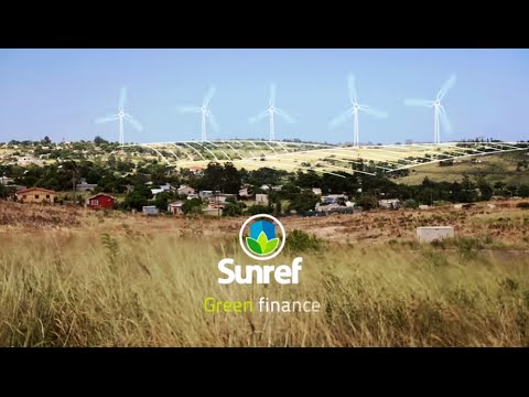 SUNREF - Encouraging green investments in South Africa (Infographic)