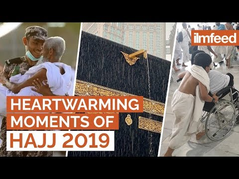 Top HEARTWARMING Moments Of Hajj 2019