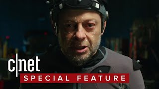 Andy Serkis reflects on the evolution of motion capture