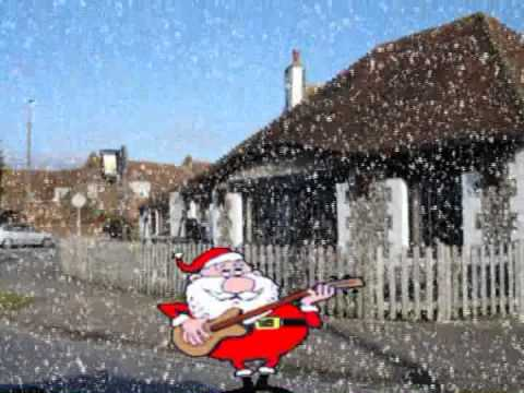 Blue Christmas In Shoreham By Sea, Sung By P P P  Porky P P P Pig.