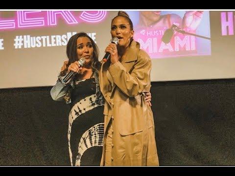 GiGi Diaz - WATCH: Jennifer Lopez Surprises Miami Fans Before Hustlers Movie Showing