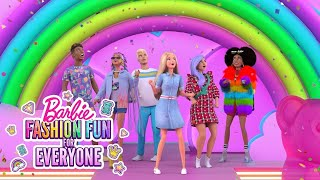 RAINBOW FASHION RUNWAY SURPRISE!  | Fashion Fun For Everyone | @Barbie