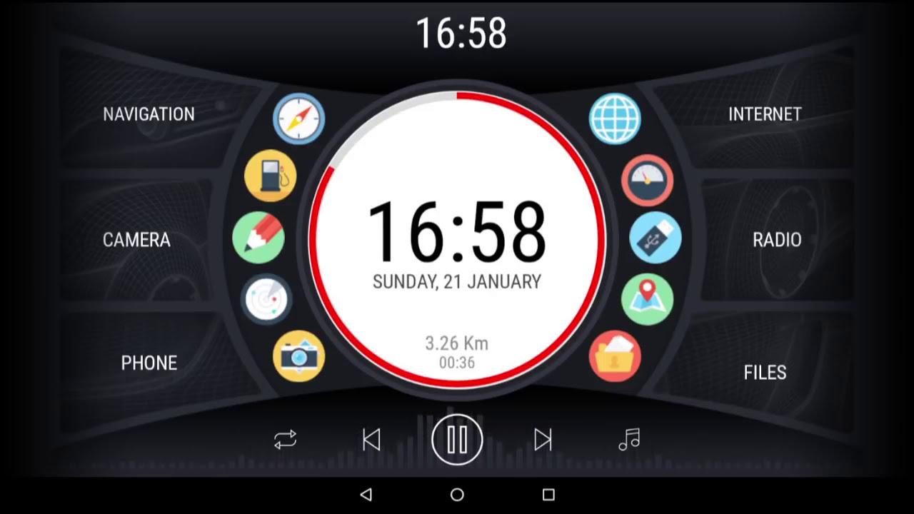 Curve - New Theme For Carwebguru Car Launcher  Dennis V 05:24 HD