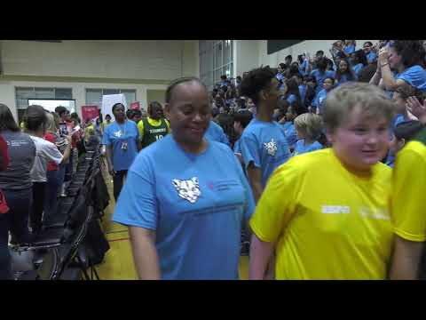 Special Olympics Unified Champion School at Kenmore Middle School