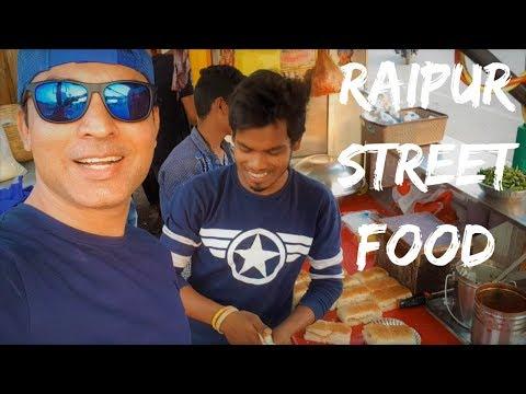 Raipur Street food Marine drive, Road trip to Raipur Chhattisgarh, India