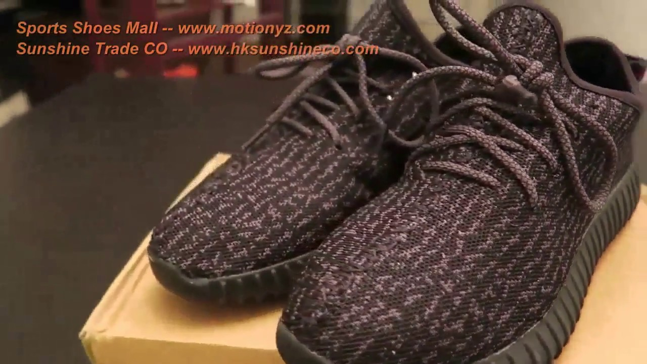 561c351f90dc6 Amazon Aliexpress Dhgate Adidas Yeezy Boost 350 Pirate Black Box Unboxing  On Feet Review Not Replica