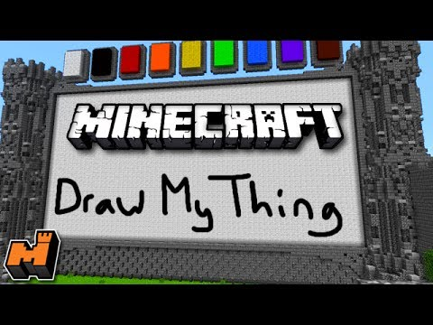 Minecraft Draw My Thing W Friends Mineplex Mini Game