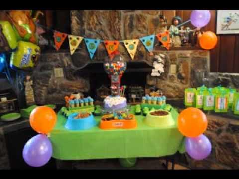 Scooby doo party ideas YouTube
