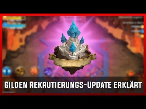 Gilden Rekrutierungs-Update Erklärt | Castle Clash [Deutsch]