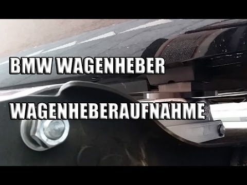 Bmw Wagenheber Wagenheberaufnahme Youtube