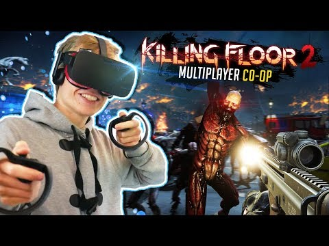 VR ZOMBIE CO-OP GAME! | Killing Floor: Incursion (Oculus Rift Gameplay) ft. Virtual Reality Oasis