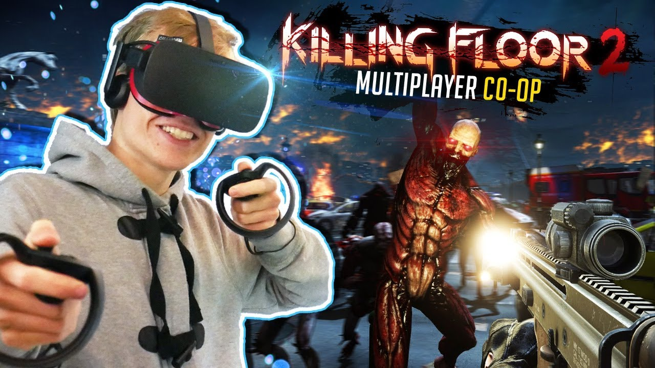Vr Zombie Co Op Game Killing Floor Incursion Oculus Rift Gameplay Ft Virtual Reality Oasis Youtube