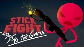 stick Fight: The Game - Обзор игр - Первый взгляд  Царь горы!