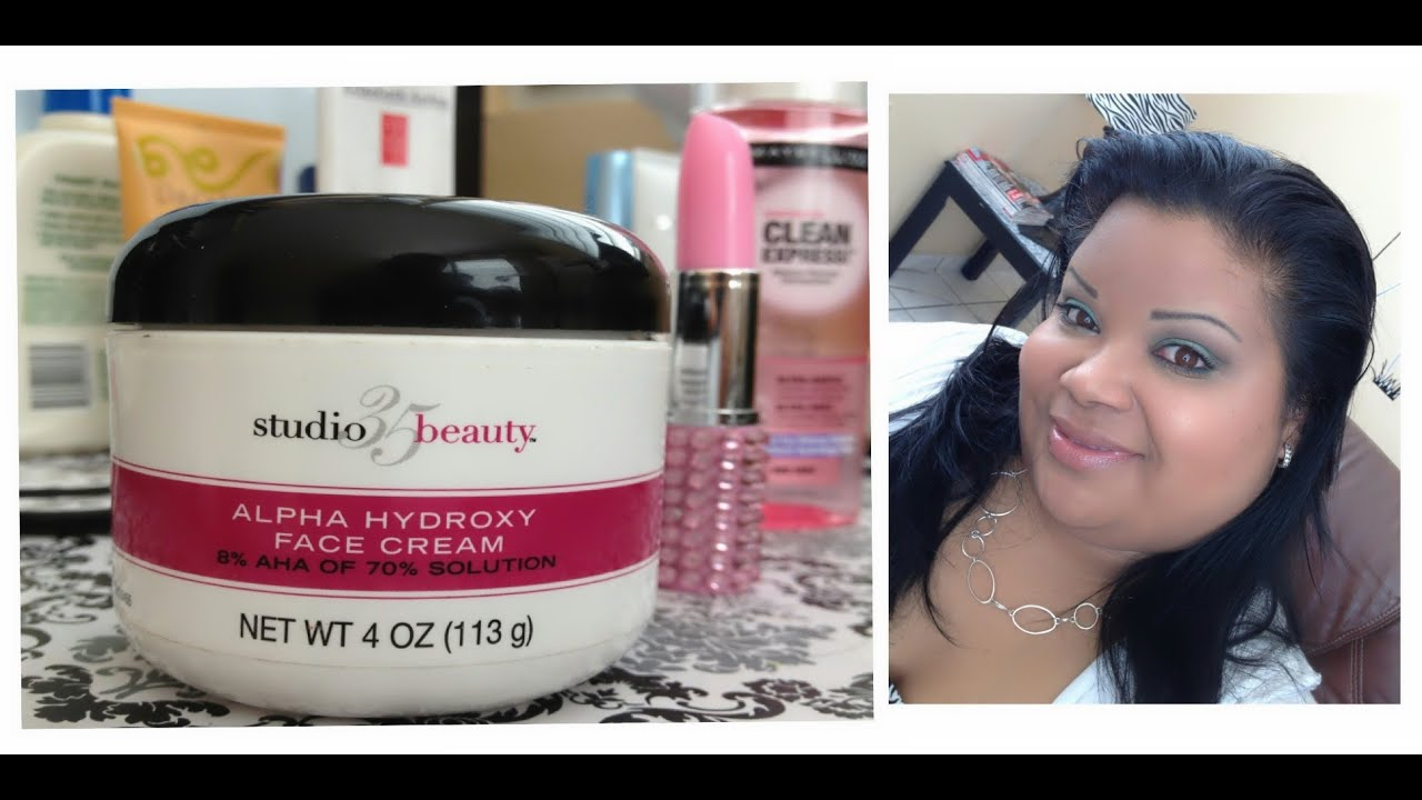 World going Alpha hydroxy facial cream