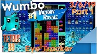 Tetris 99 Battle Royale - 20+ Win Streak - Wumbo 750+ Wins