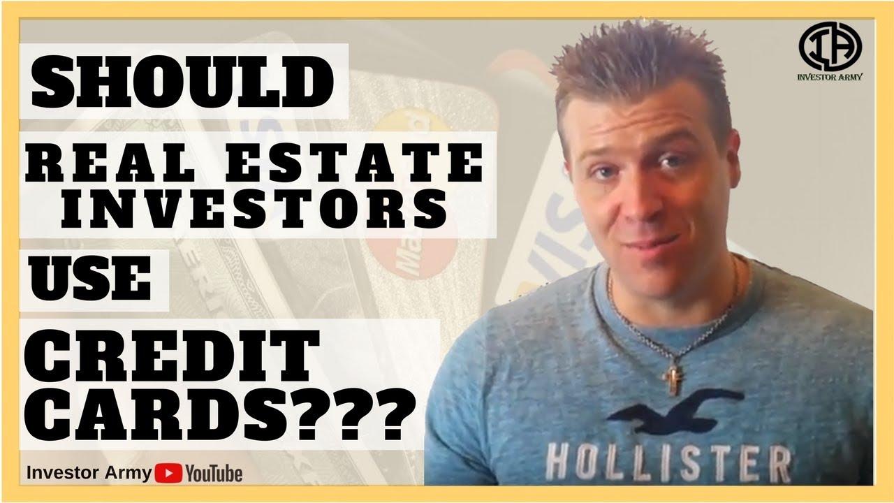 Should Real Estate Investors Use Credit Cards??