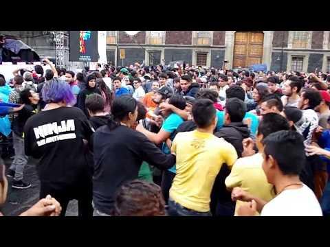 Pum Pum Bang Bang - Los Esquizitos Plaza Sto. Domingo (slam old school)