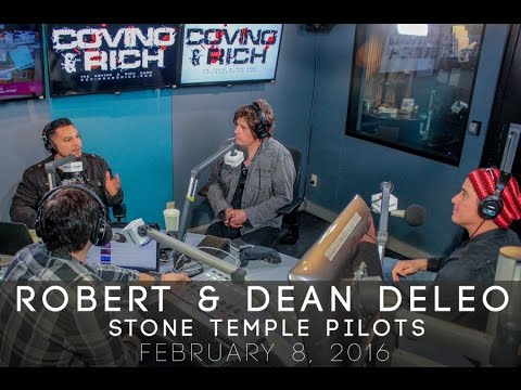 Robert & Dean DeLeo of Stone Temple Pilots with Covino & Rich (Full)