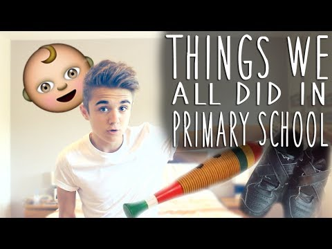 THINGS WE ALL DID IN PRIMARY SCHOOL | Jake Mitchell