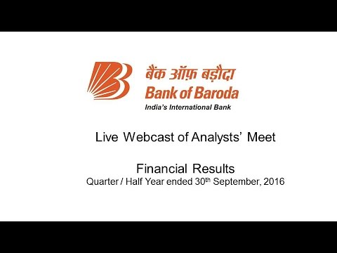 Live : Analysts' Meet - Financial Results : Quarter / Half Year Ended 30th September, 2016