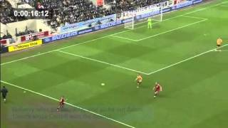 A short analysis of Andy Carroll vs WWFC - (2) Defending, desire and finishing.