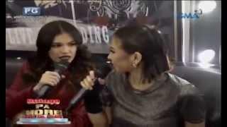 Rhian Ramos and Glaiza De Castro on Bulaga Pa More, Rock Pa More (Eat Bulaga)