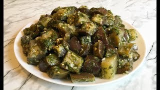 "Закуска ""Баклажаны Как Грибы"" (Вкуснятина) / Закуска из Баклажан / Eggplant Snack Recipe"