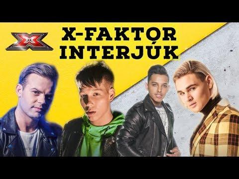 X-FAKTOR INTERJÚK - MÁR CSAK 4-EN VANNAK!