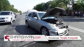 Երևանում բախվել են Volkswagen ներն ու Nissan ը  կան վիրավորներ