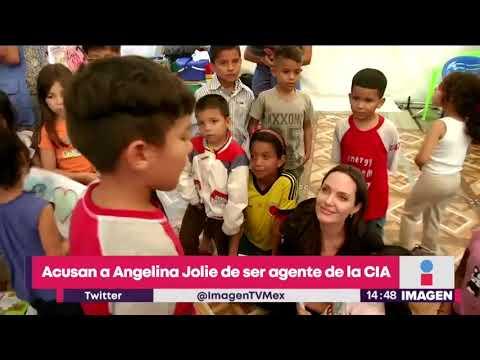 Acusan a Angelina Jolie de ser agente de la CIA | Noticias con Yuriria Sierra