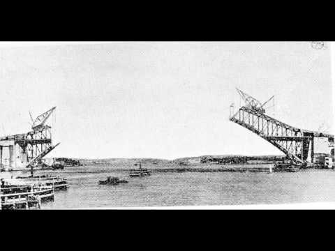 Sydney Harbour Bridge Construction, Flip Book