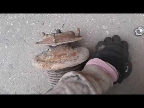 москвич 2141 передняя стойка на другой стороне со втулкой Часть 2