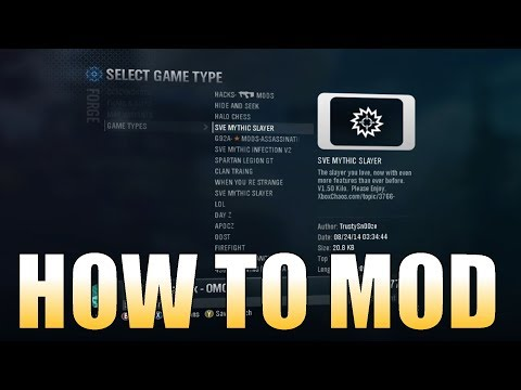 How To Mod In Halo Reach With No Modding Tools (Works On Xbox One)