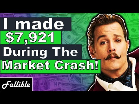 I Made Another $7,921 During The Market Crash! Learn How I Did It | Tyler's Trade Recap Part 3