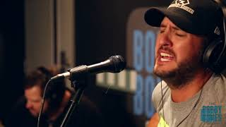 Luke Bryan Plays His New Single For Joy Week
