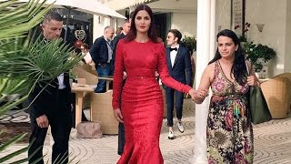 Cannes Film Festival 2015   Katrina Kaif Looks Red Hot In Elie Saab On 2nd Day