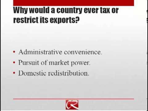 International Trade Part 4: Interventions