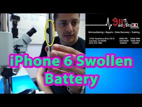 IPhone 6 - Battery Replacement/ Swollen Screen