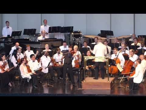 DSO, joshua bell, violin / Maurice Ravel, Tzigane, for violin and orchestra.