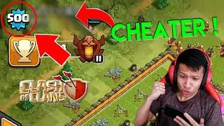 MAMPUS ! Cheater COC Level 500 Kena Banned - CLash Of CLans Indonesia