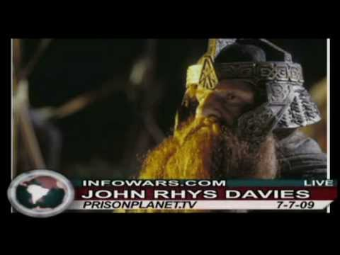 John RhysDavies on the Alex Jones