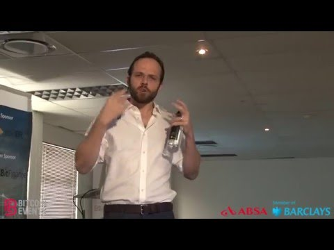 The Blockchain & Bitcoin Africa Conference 2016 - Marcus Swanepoel
