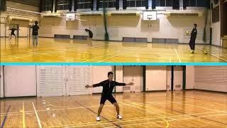 【バレーボール】Advance#1-1 EVAサーブ,サーブカット   Volleyball JAPAN TOKYO