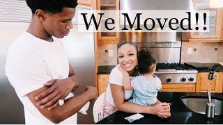 WE MOVED! PT1 😍🏡