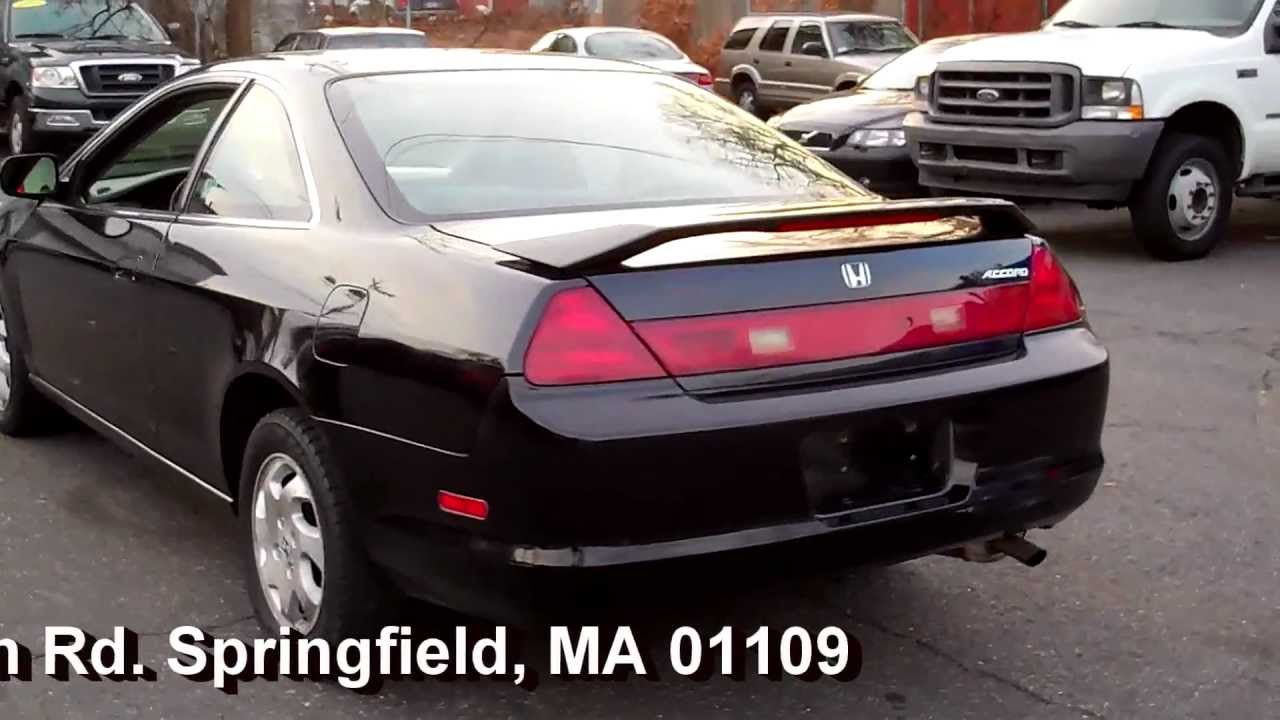1999 Honda Accord Ex Coupe 2dr 2 3l Vtec 4cyl At Moonroof Youtube