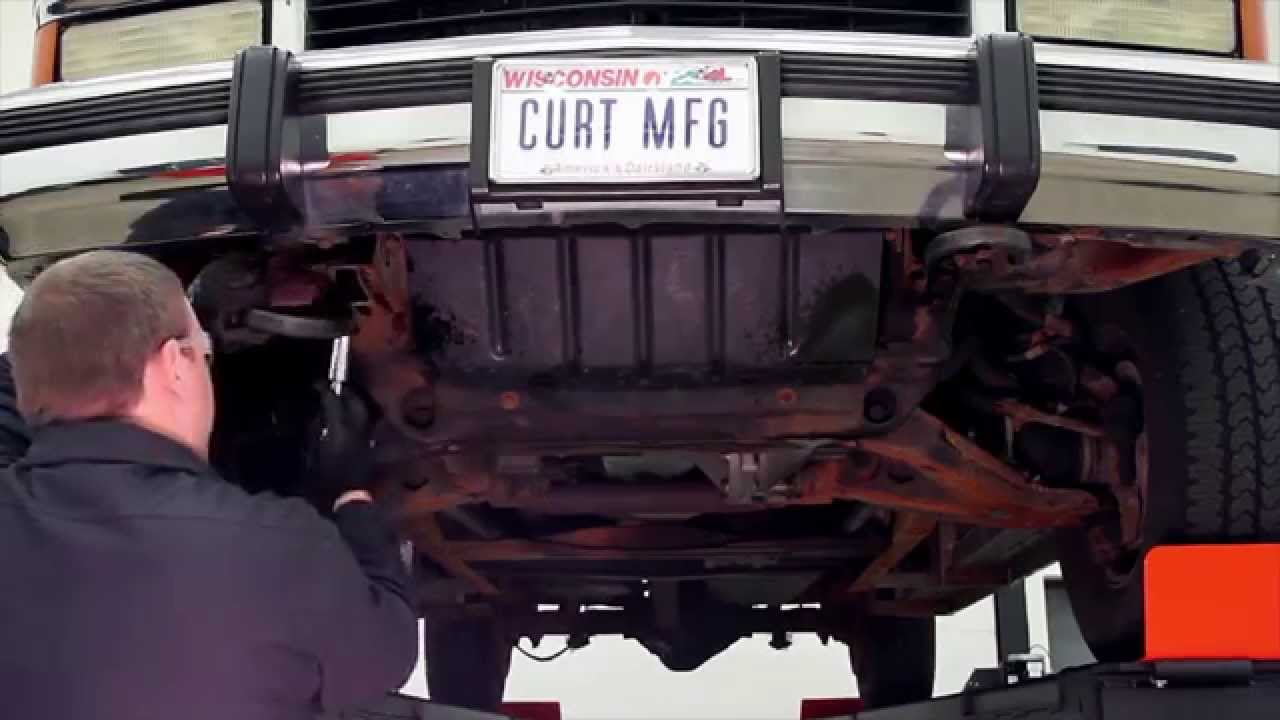 How to Install a SNOWSPORT® Snow Plow front mount on a 88 ...