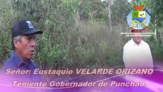 CONSTRUCCIÓN DE  LETRINAS EN PUNCHAO.