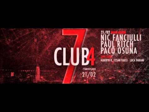 Paul Ritch - Club4 - 7th Anniversary - Barcelona