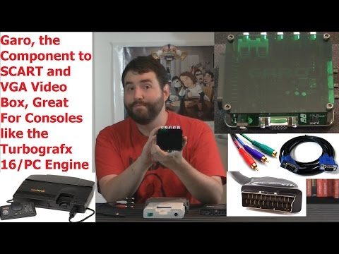 Component to RGB SCART/VGA Box (Ideal for Old Consoles) - Adam Koralik